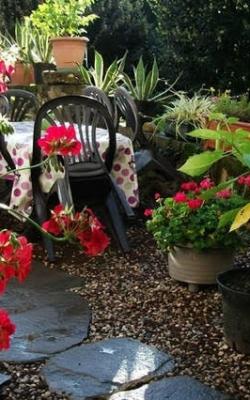 Un jardin tranquille